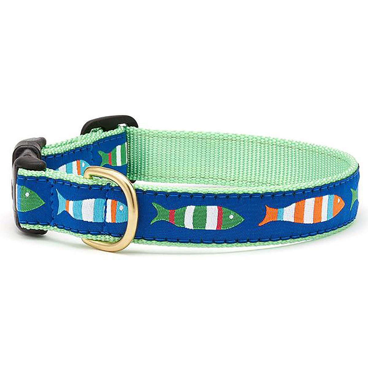 Funky Fish Dog Collar by Up Country