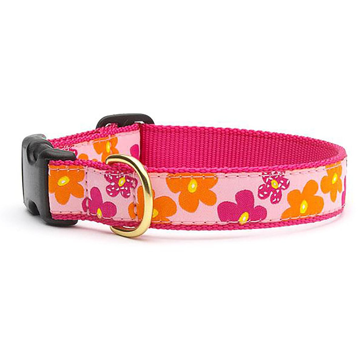 Flower Power Dog Collar by Up Country