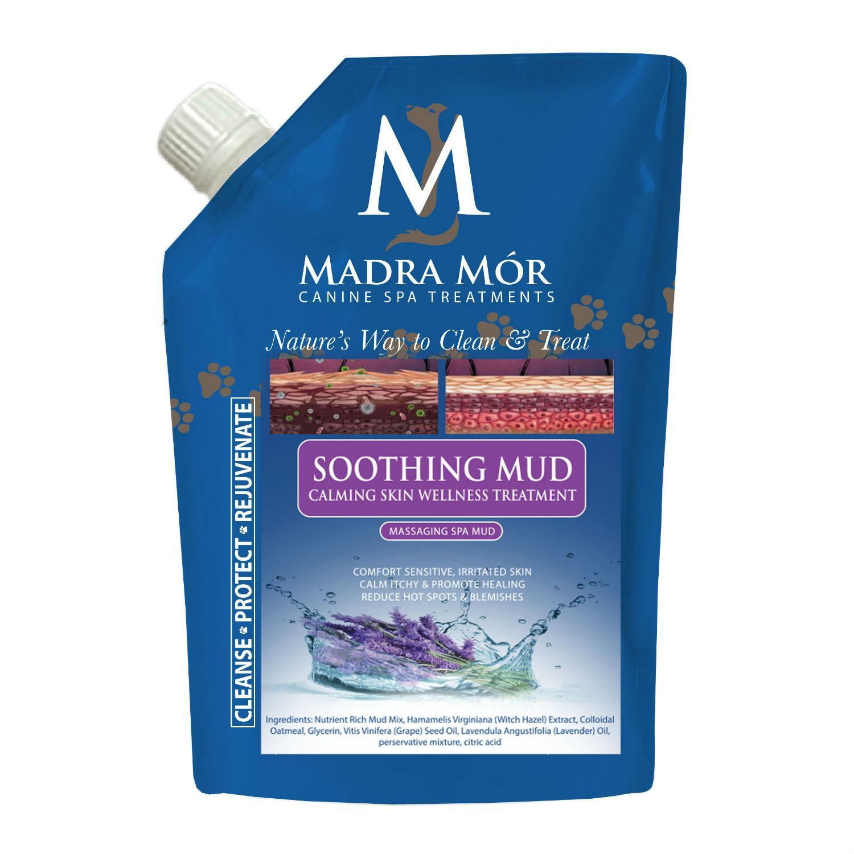 Madra Mór Canine Spa Treatments Soothing Massaging Spa Mud Dog Bath - Irritated Skin Relief
