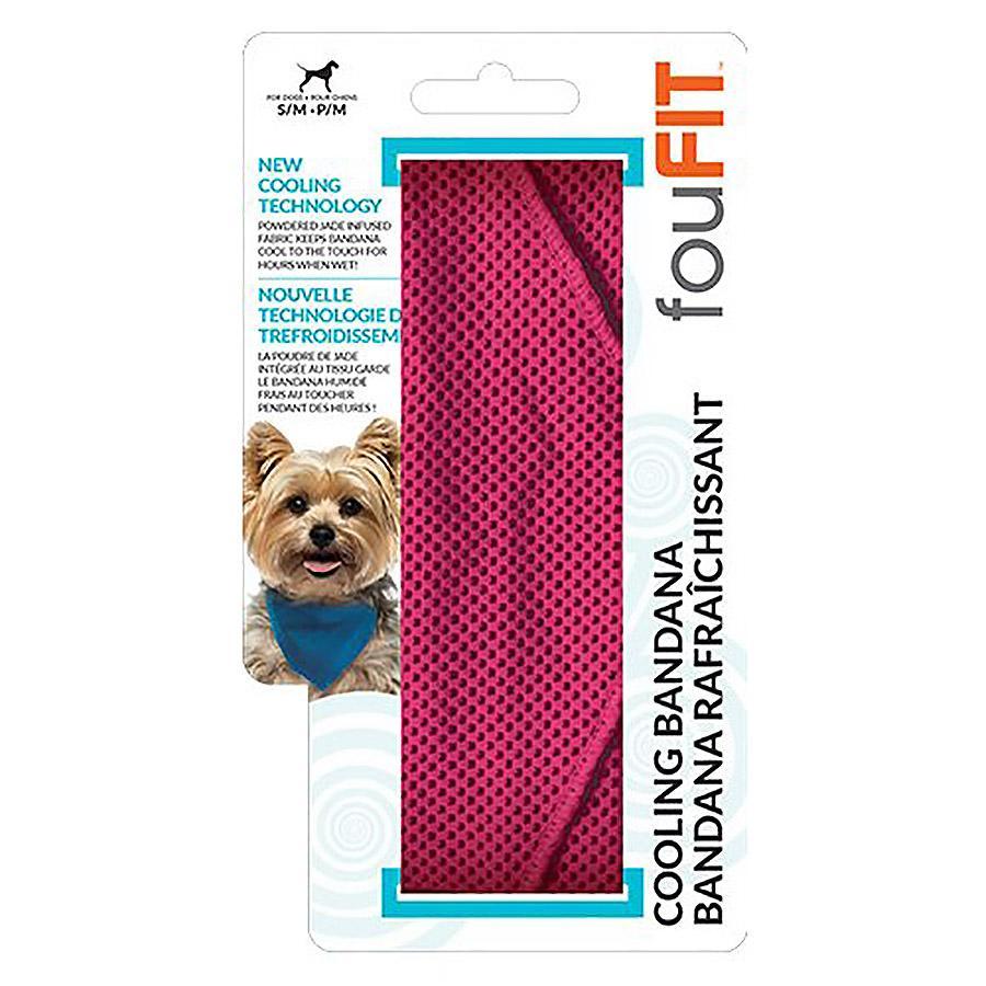 fouFIT Dog Cooling Bandana - Pink