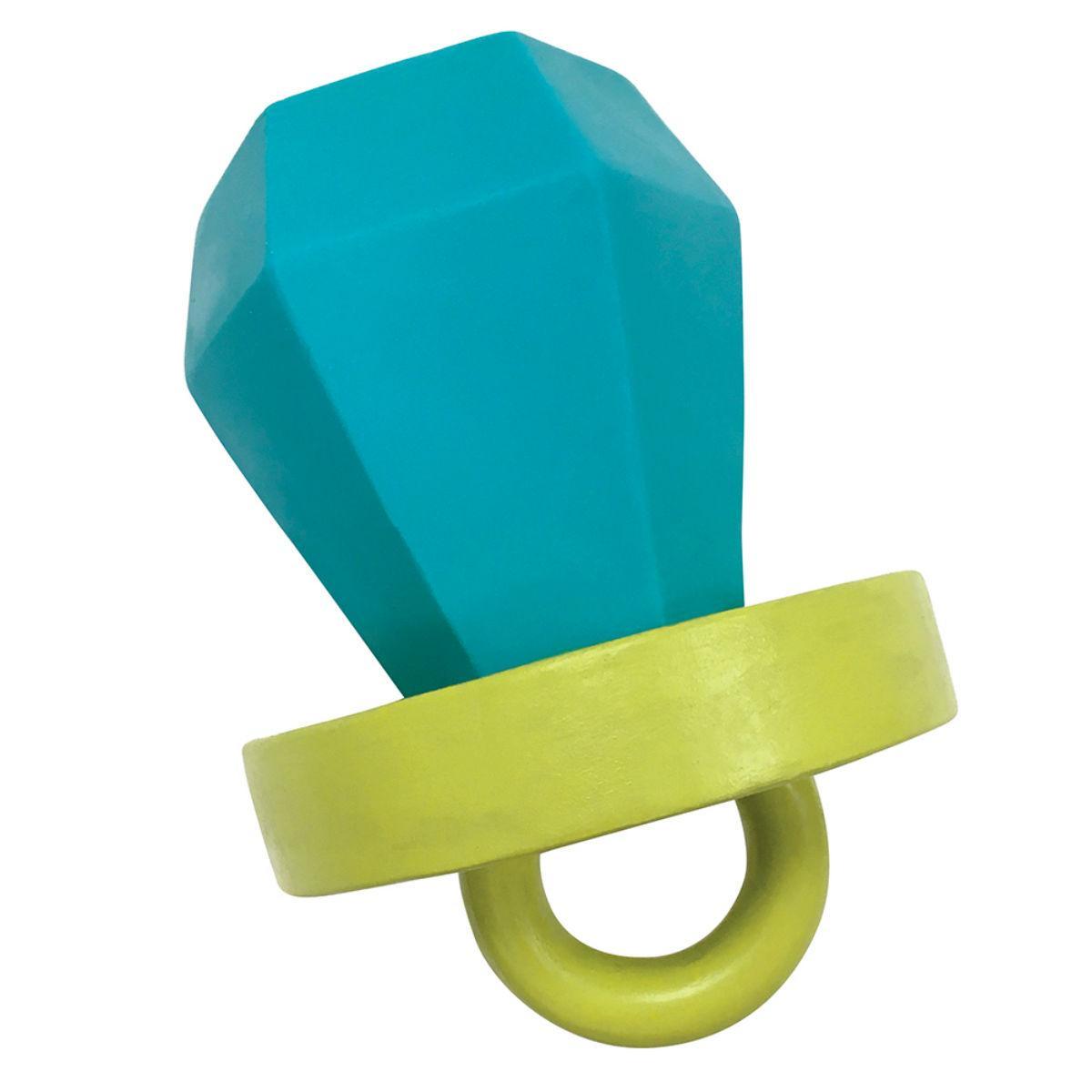 foufou Dog Candy Chew Latex Dog Toy - Ring Pop