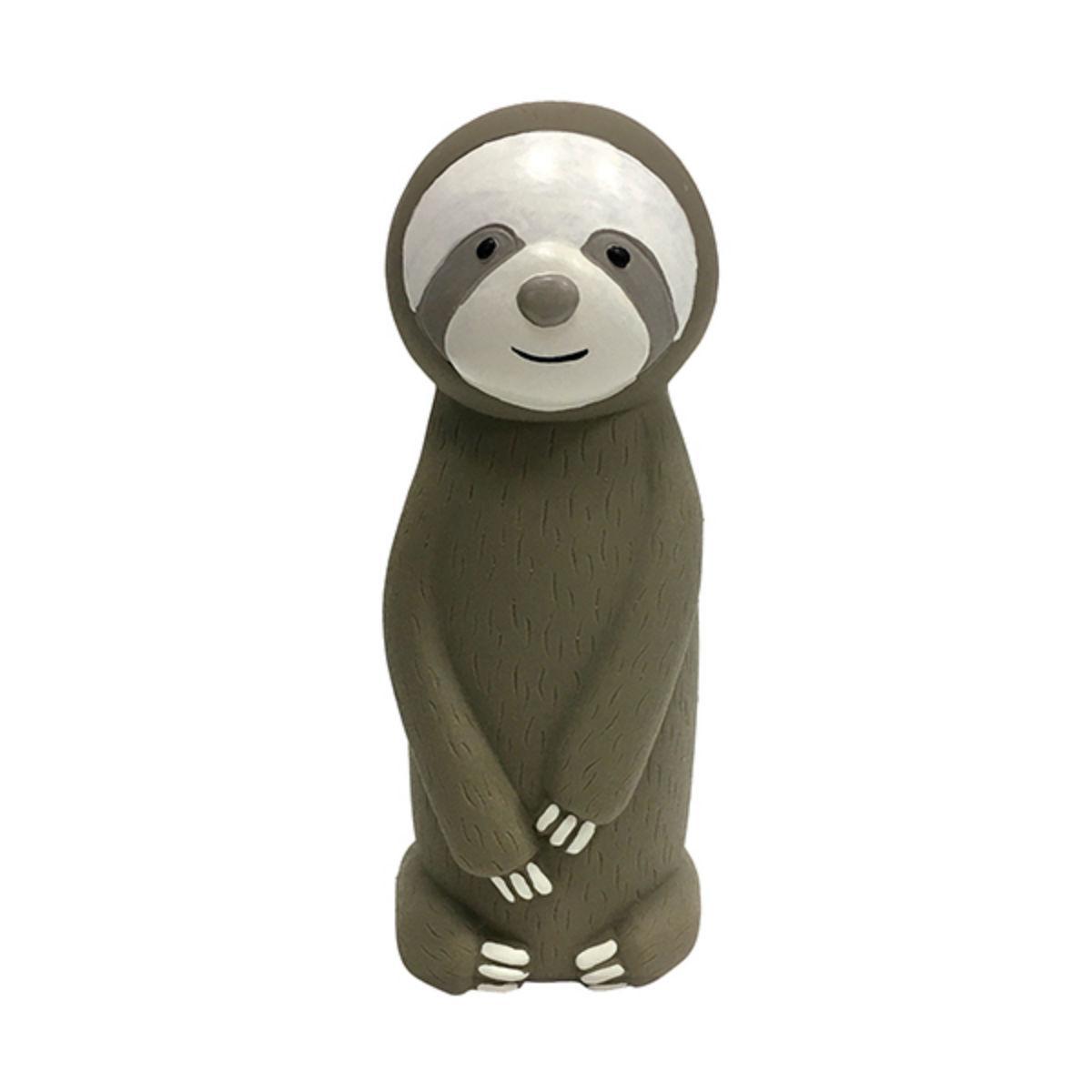 foufou Dog Cruncher Sloth Dog Toy