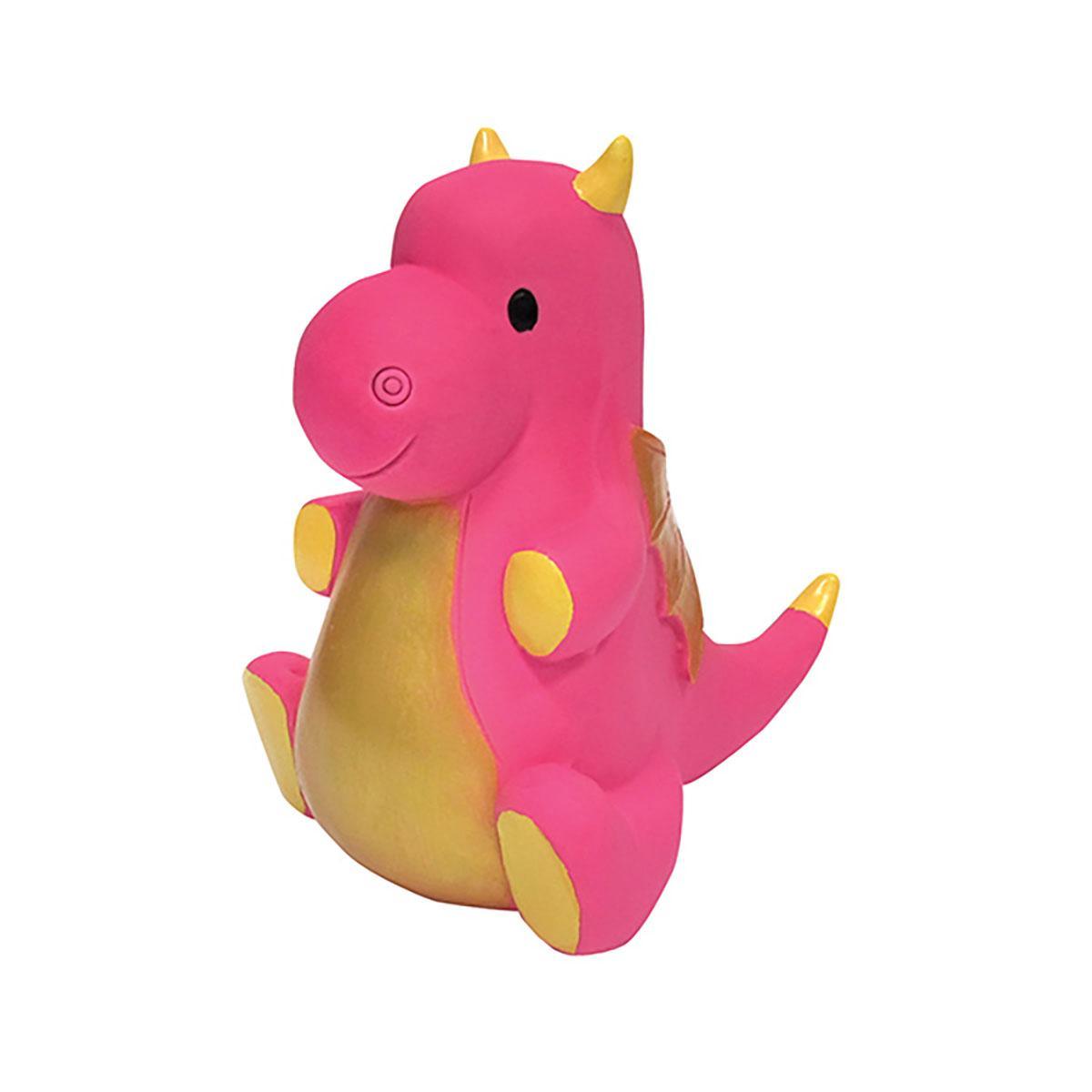 foufou Dog Dragon Chew Latex Dog Toy - Pink