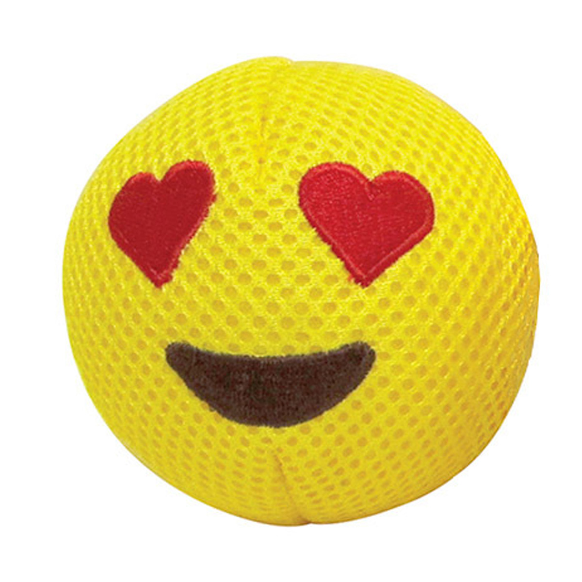 foufou Dog Emoji Ball Dog Toy - Love