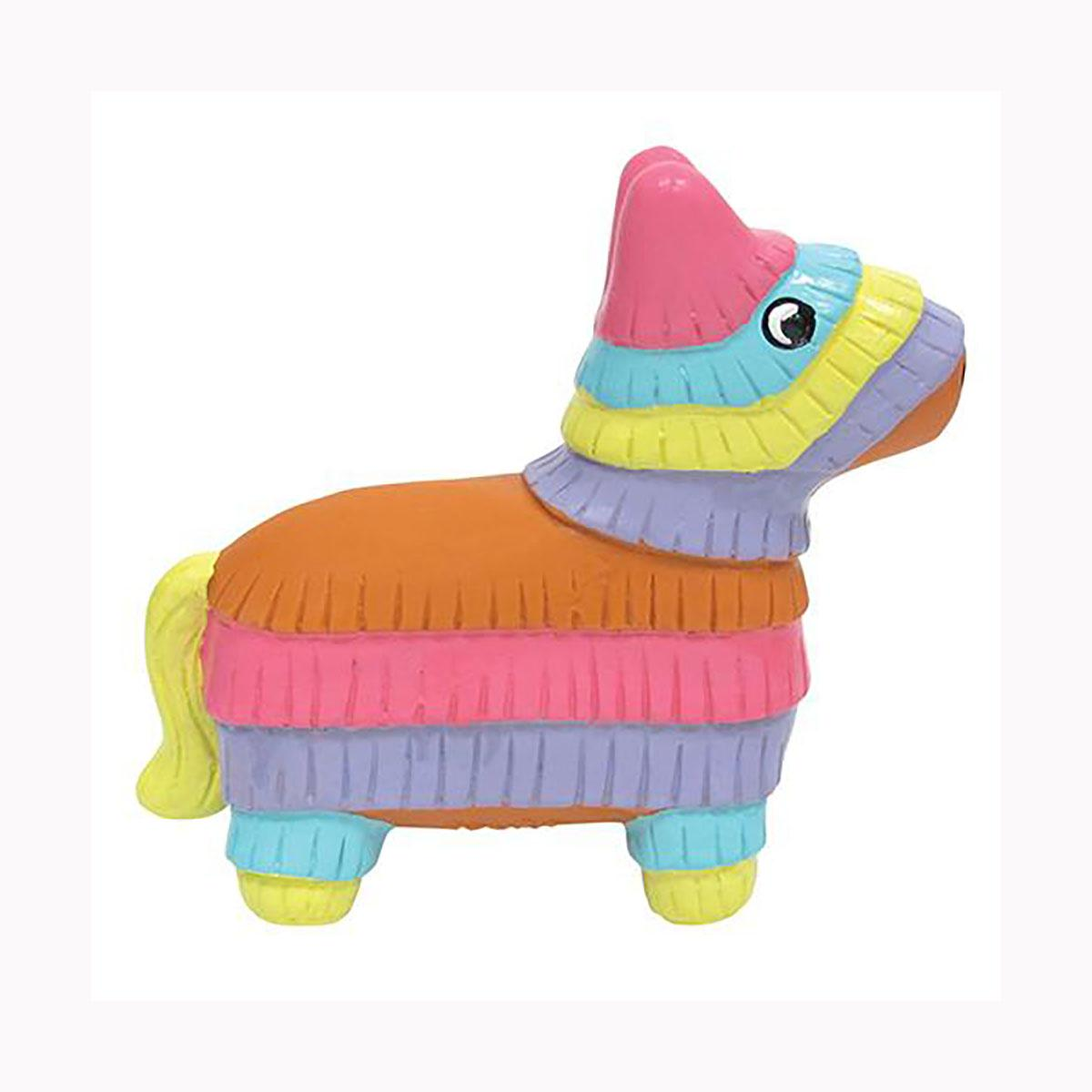foufou Dog Fiesta Chew Latex Dog Toy - Pinata