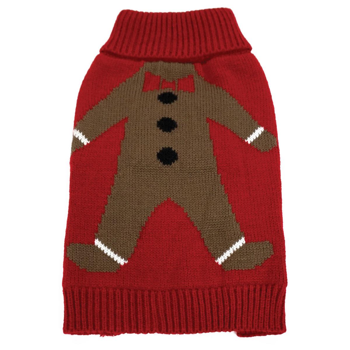 foufou dog ugly christmas dog sweater gingie - Ugly Christmas Dog Sweater