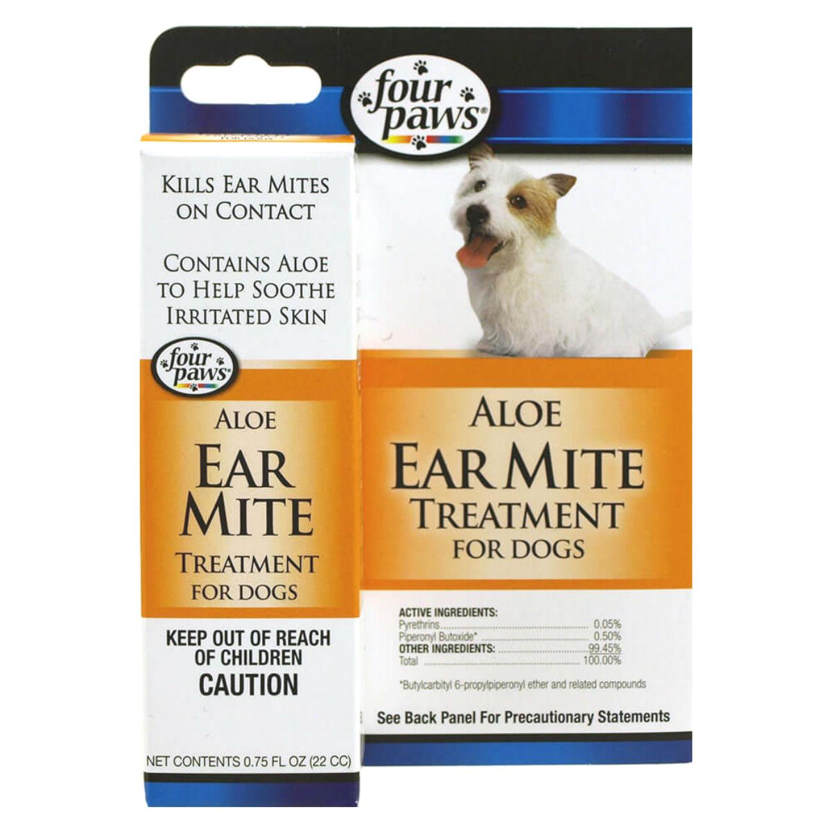 Four Paws Ear Mite Treatment for Dogs