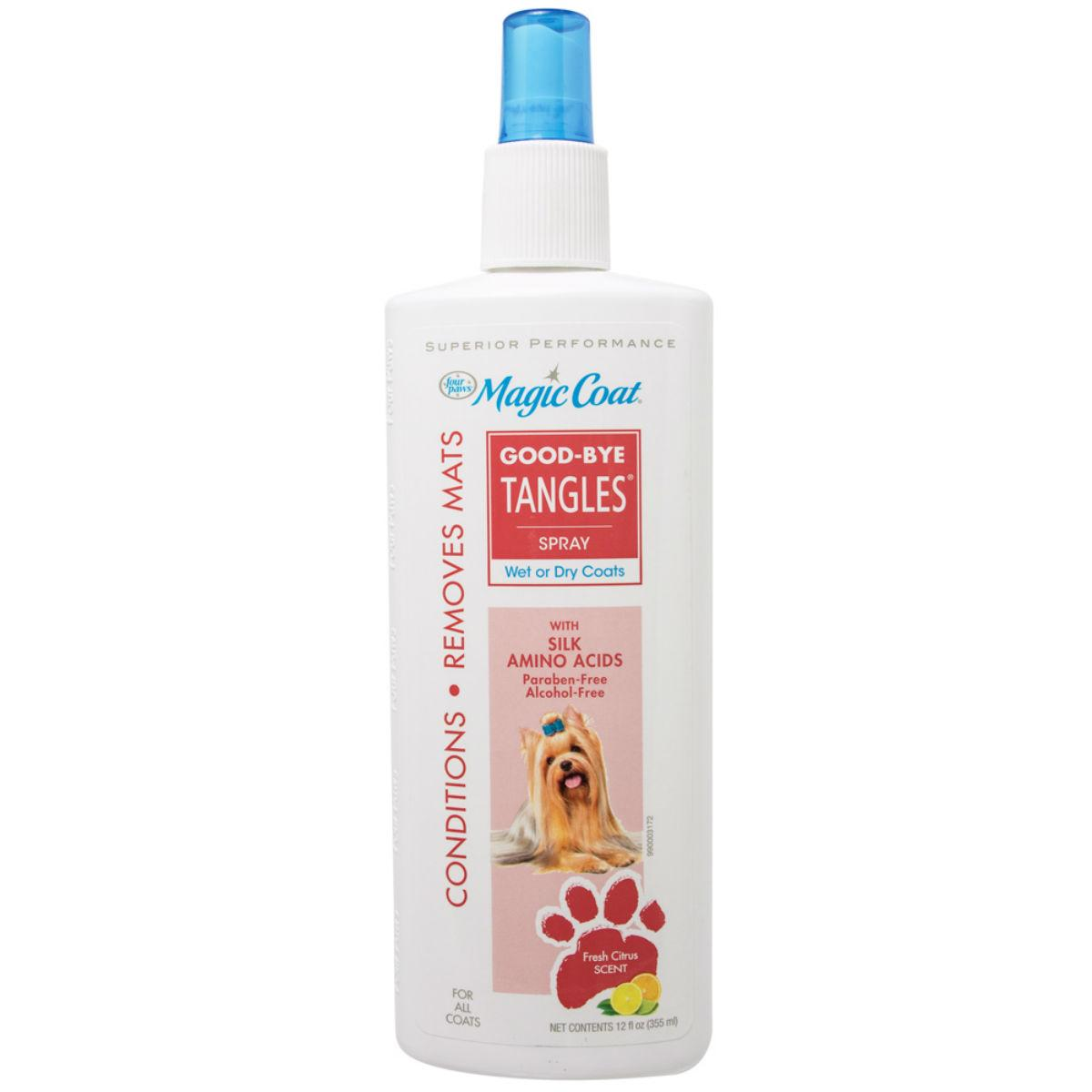 Four Paws Magic Coat Good-Bye Tangles Spray Dog Conditioner