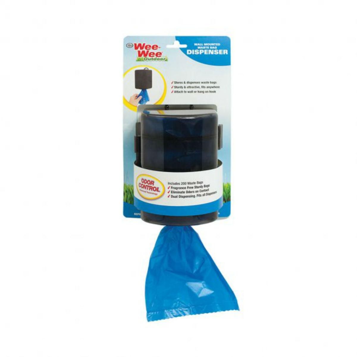 Four Paws Wee Wee Wall Mount Waste Bag Dispenser