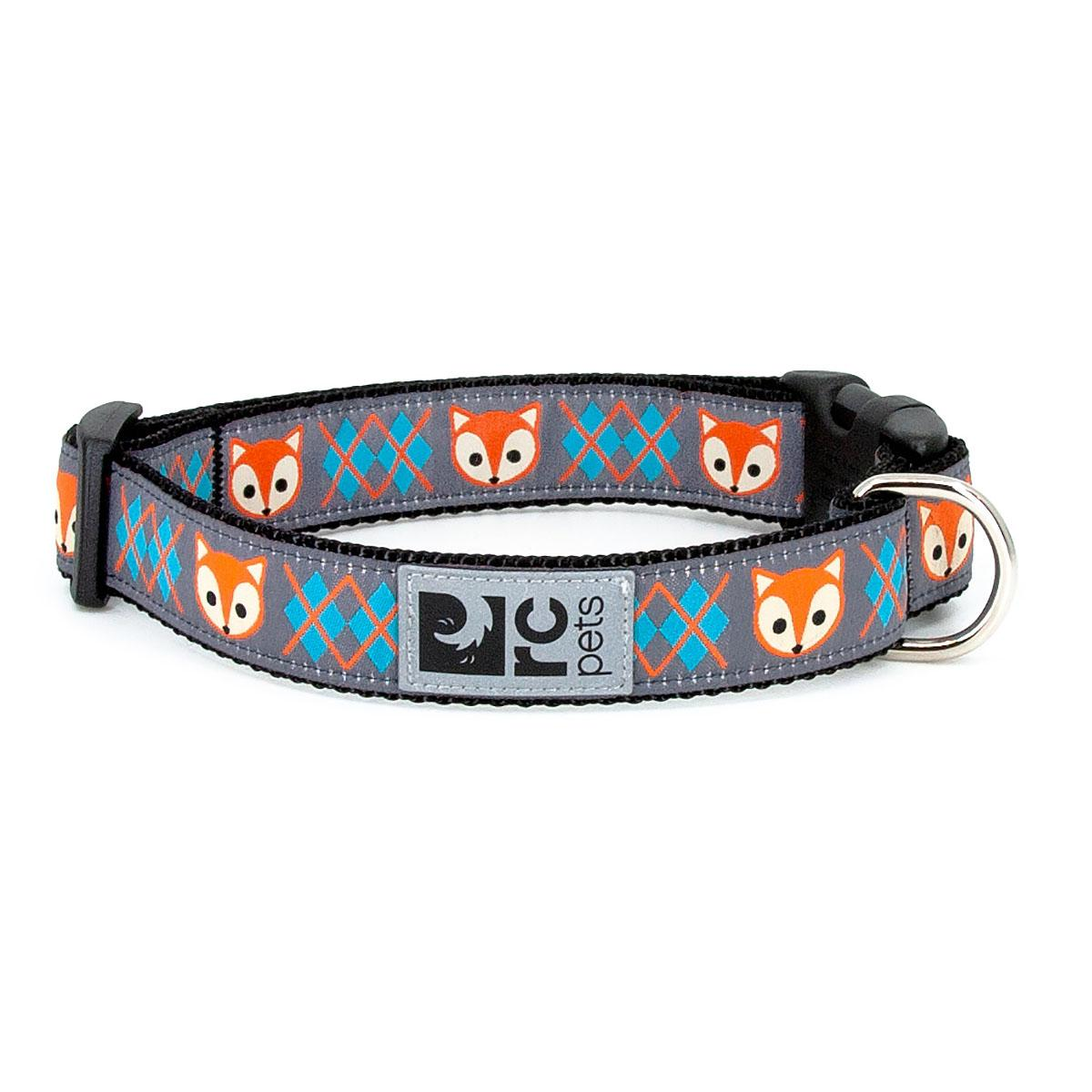 Fox Adjustable Dog Collar by RC Pets