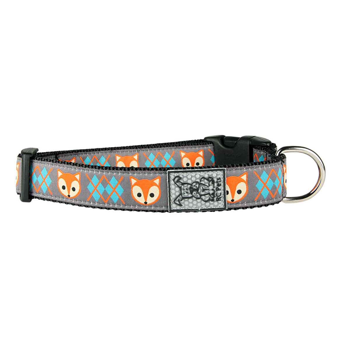 Fox Adjustable Dog Collar by RC Pet