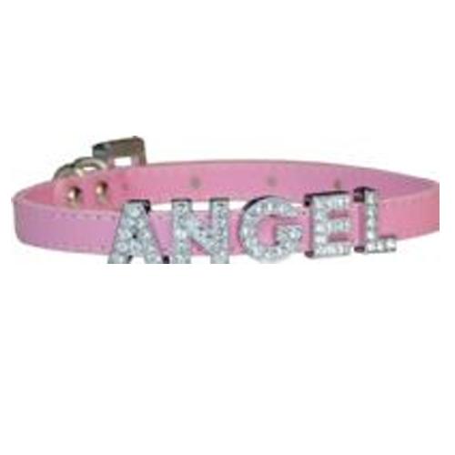Foxy Matte Slide Dog Collar - Pink