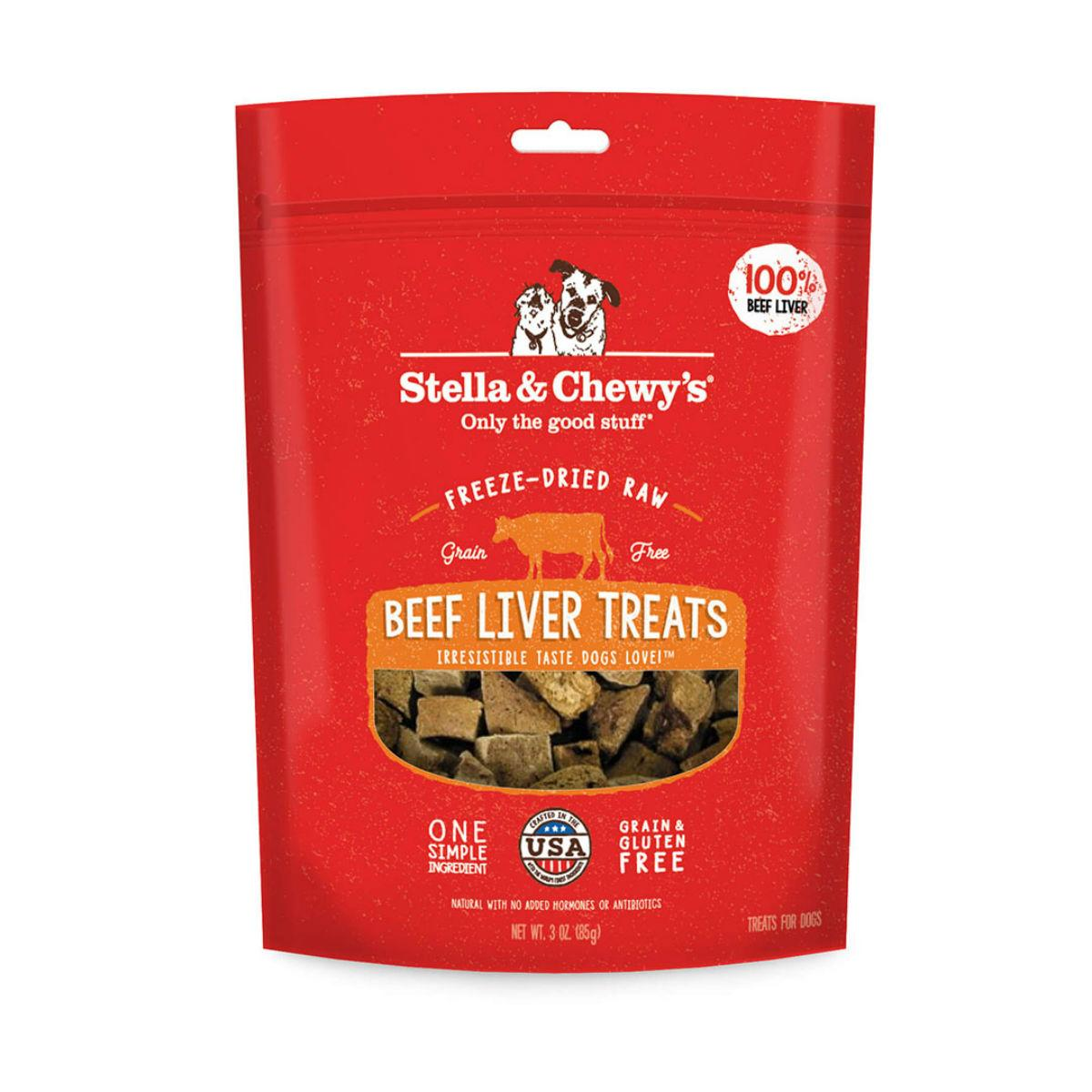 Stella & Chewy's Freeze Dried Beef Liver Dog Treats