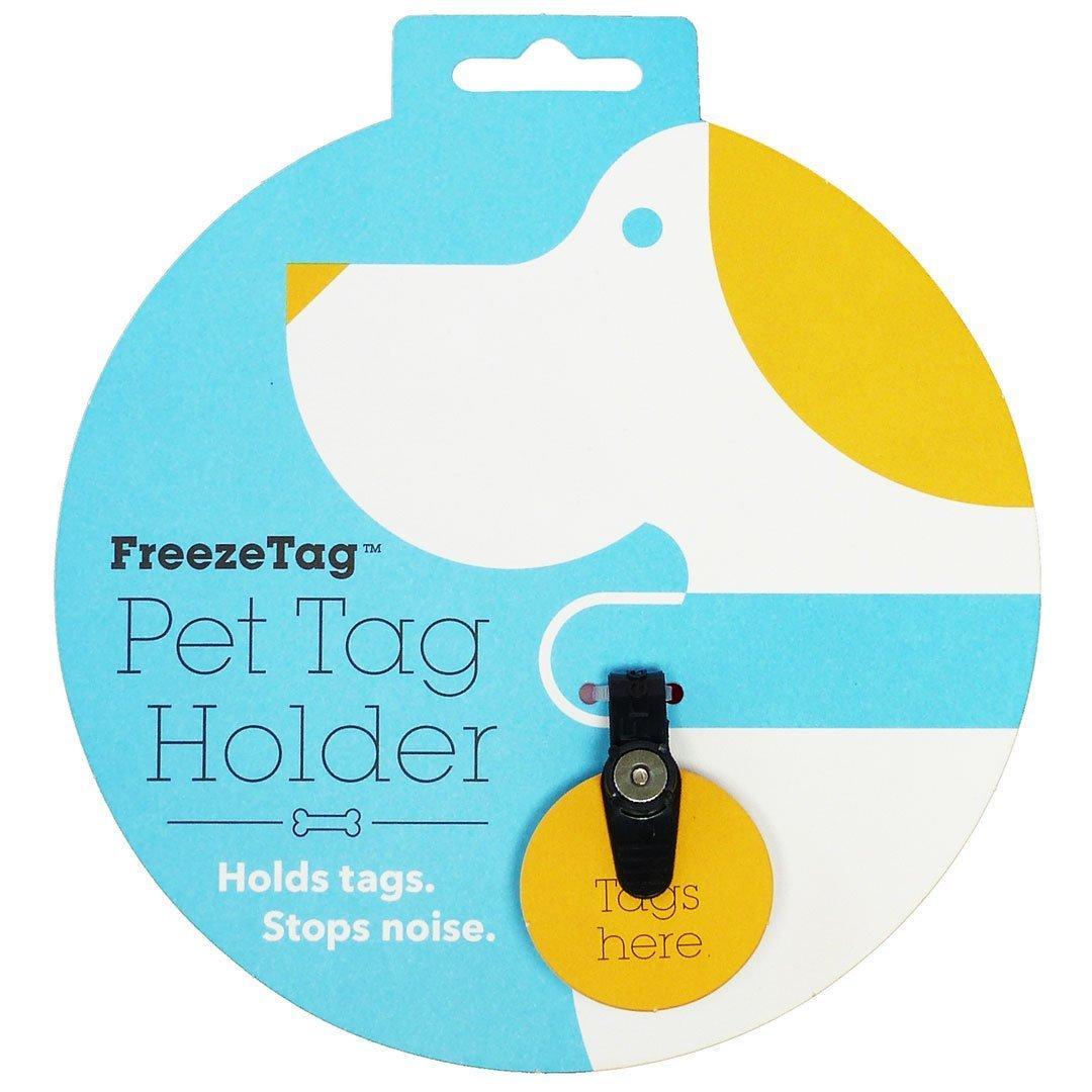 FreezeTag Dog Tag Silencer - Black