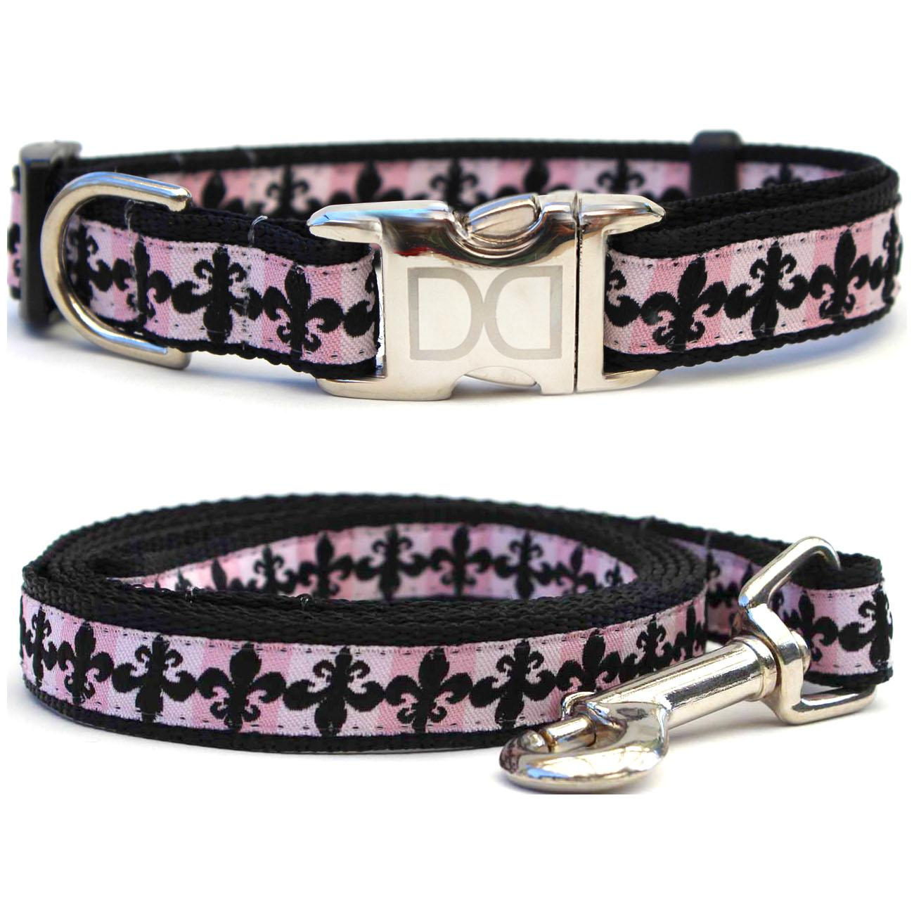 Katrina Dog Collar and Leash Set by Diva Dog