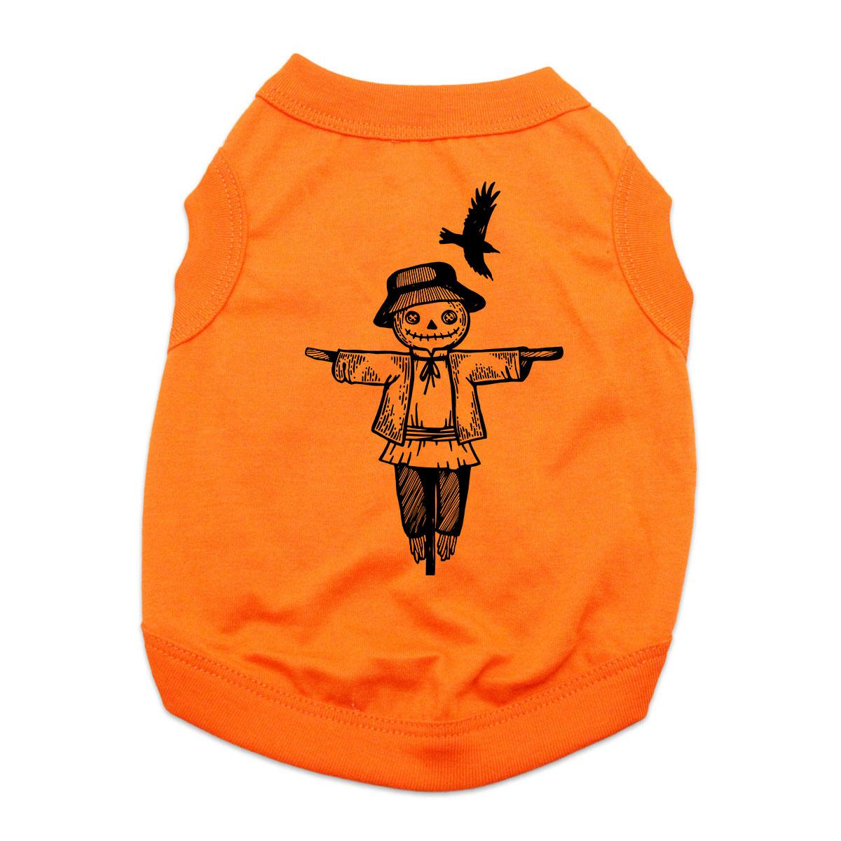 Scarecrow Dog Shirt - Orange
