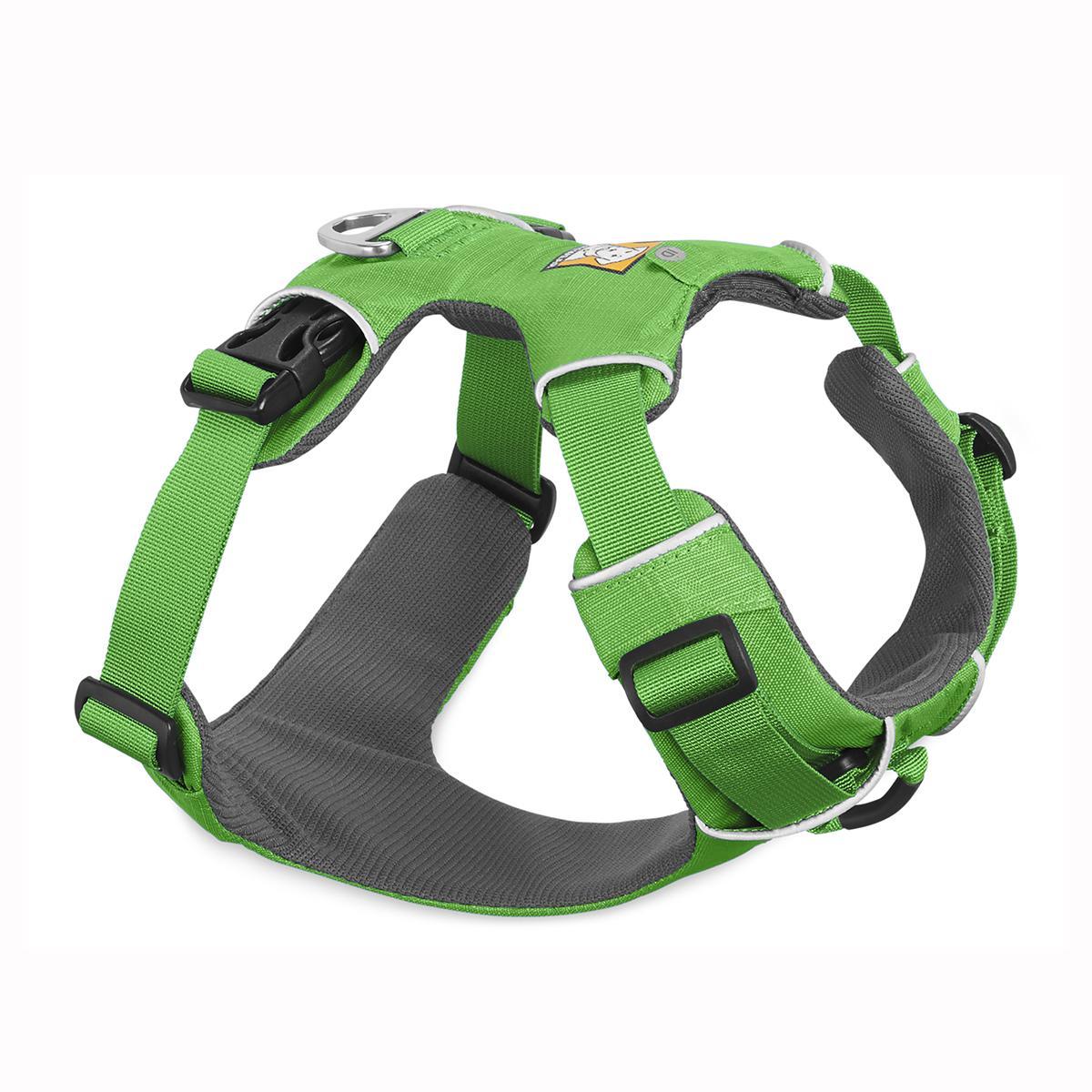 Front Range Dog Harness by RuffWear - Meadow Green