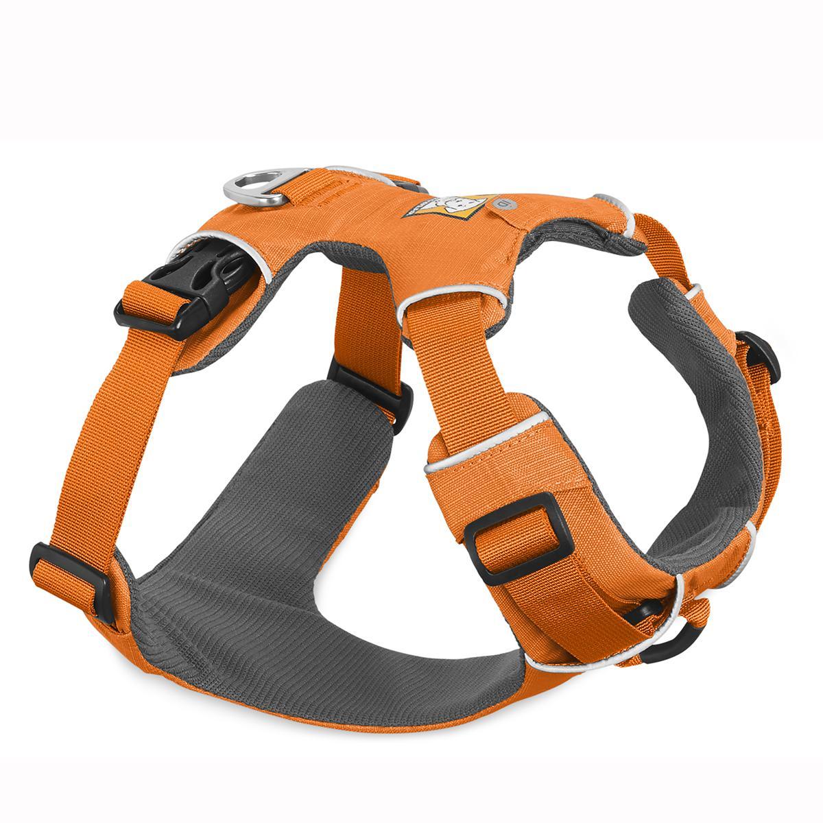 Front Range Dog Harness by RuffWear - Orange Poppy