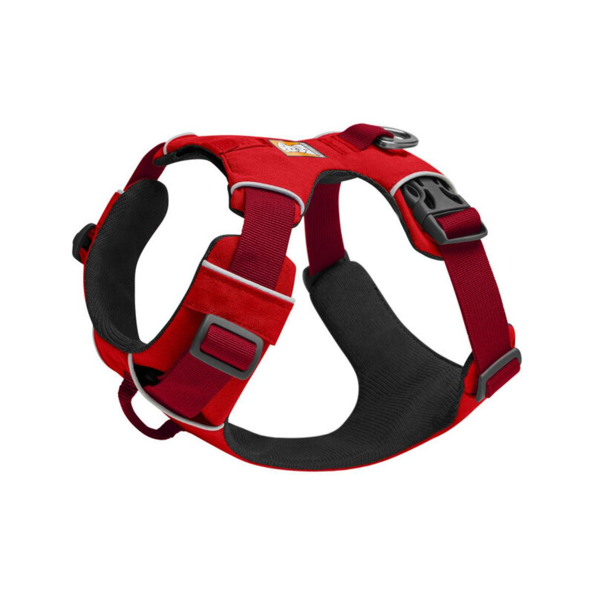 Front Range Dog Harness by RuffWear - Red Sumac