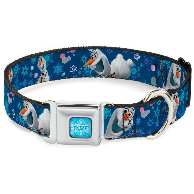 Frozen Olaf Seatbelt Buckle Dog Collar by Buckle-Down