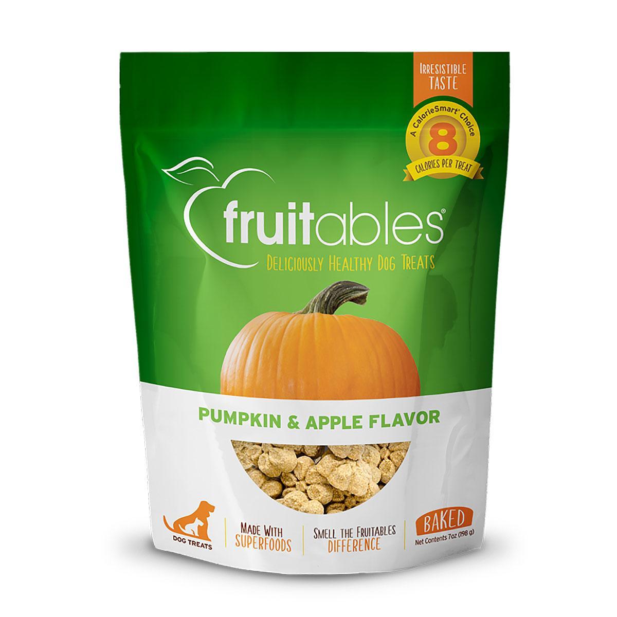 Fruitables Dog Treats - Pumpkin & Apple