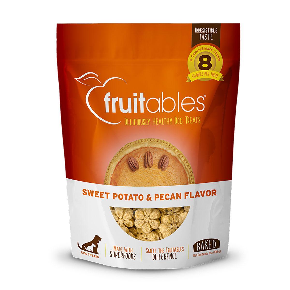 Fruitables Dog Treats - Sweet Potato & Pecan