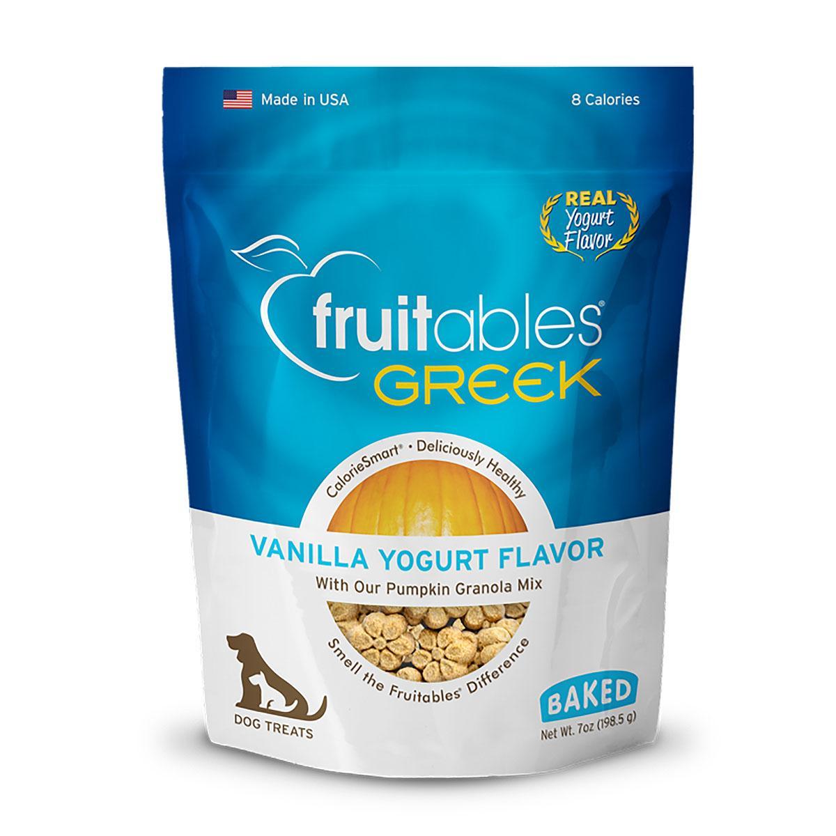 Fruitables Greek Yogurt Dog Treat - Vanilla