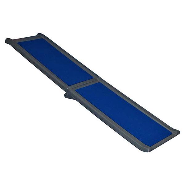 Full Length Bi-Fold Pet Ramp - Blue/Black