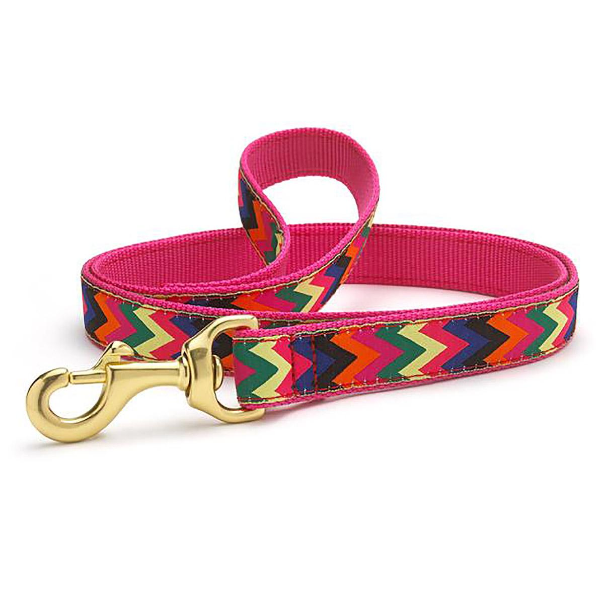 Zig Zag Wag Dog Leash by Up Country