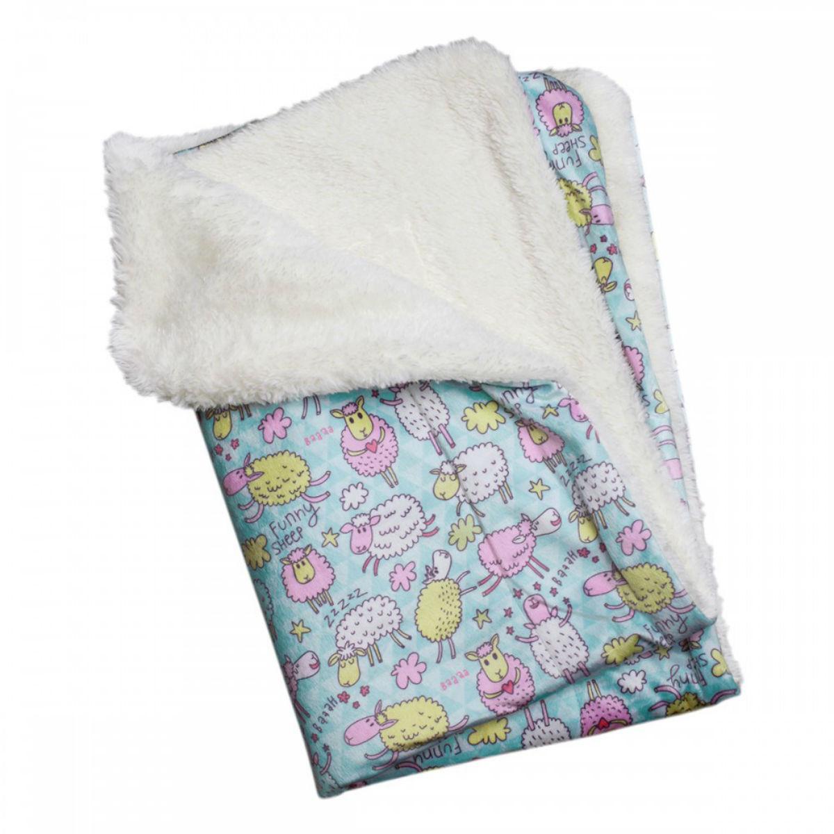 Funny Sheep Ultra-Soft Minky Plush Dog Blanket by Klippo