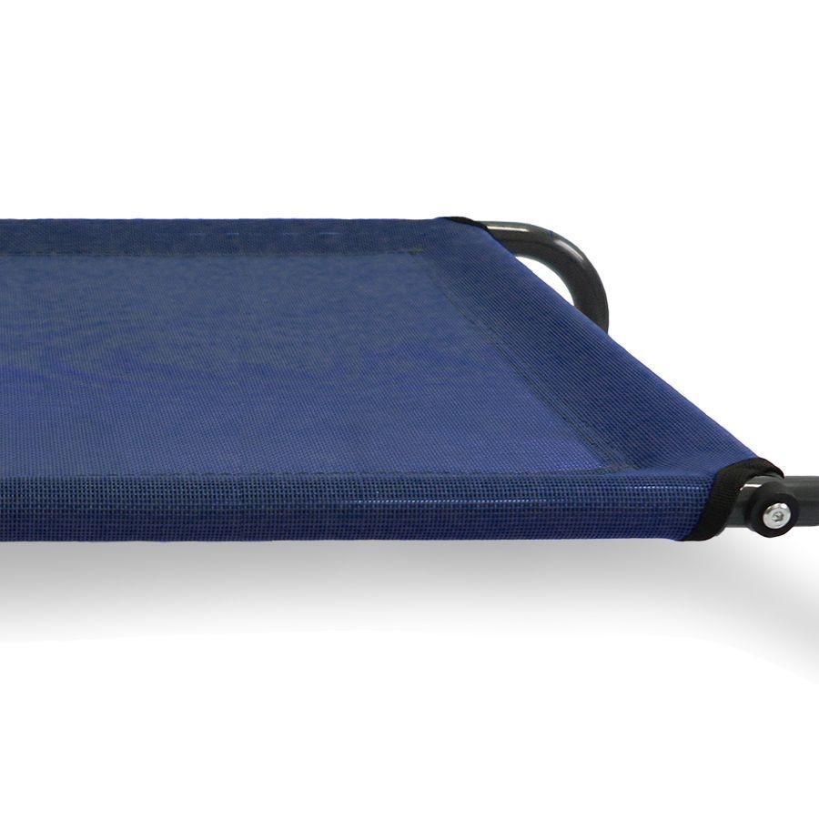 FurHaven Cot Pet Bed - Deep Blue