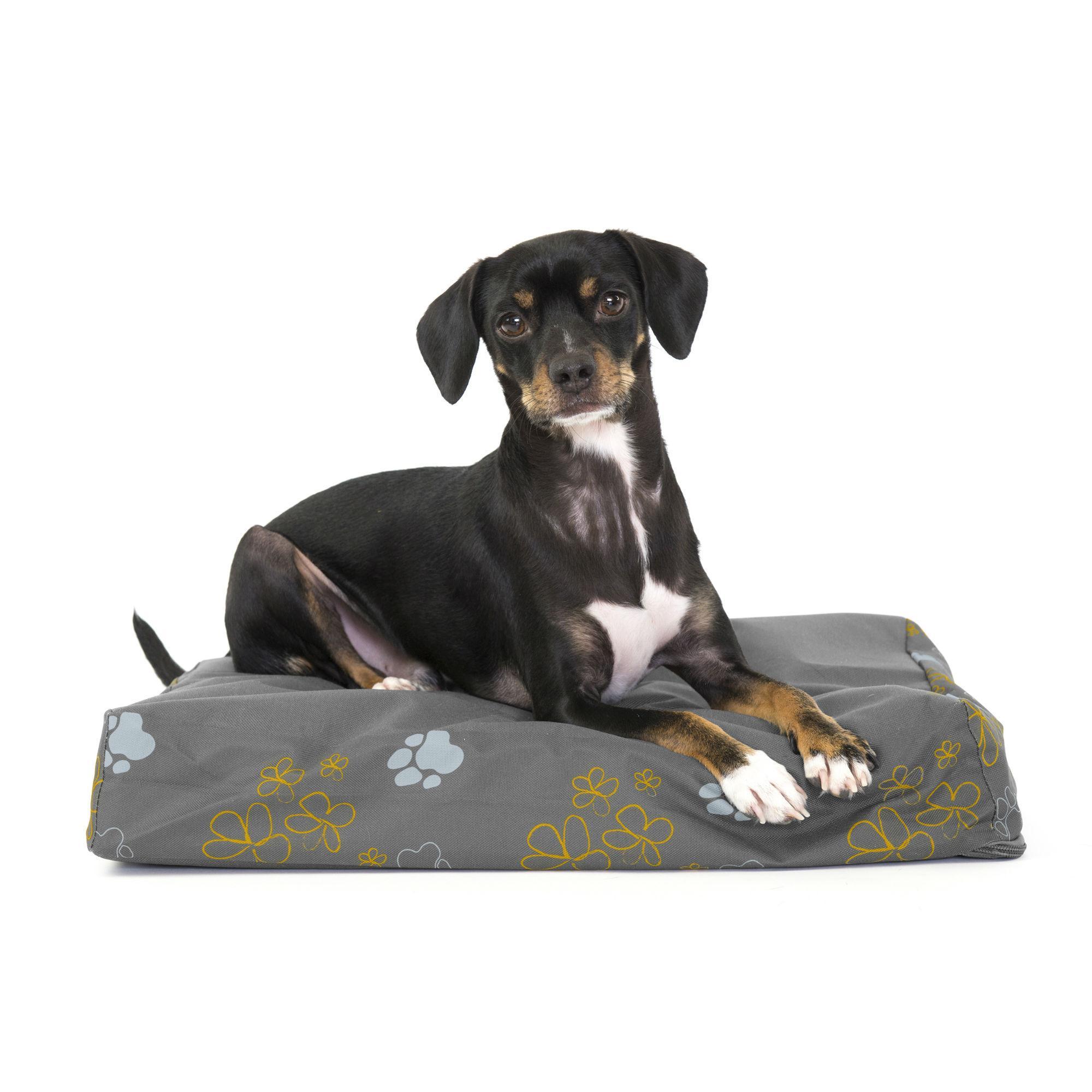 FurHaven Deluxe Indoor/Outdoor Garden Orthopedic Pet Bed - Iron Gate