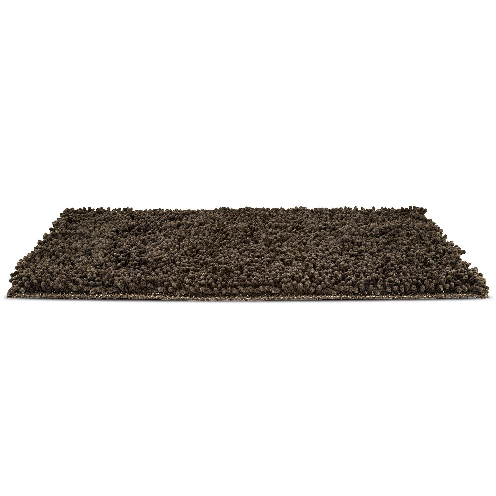 FurHaven Muddy Paws Towel & Shammy Dog Rug - Mud