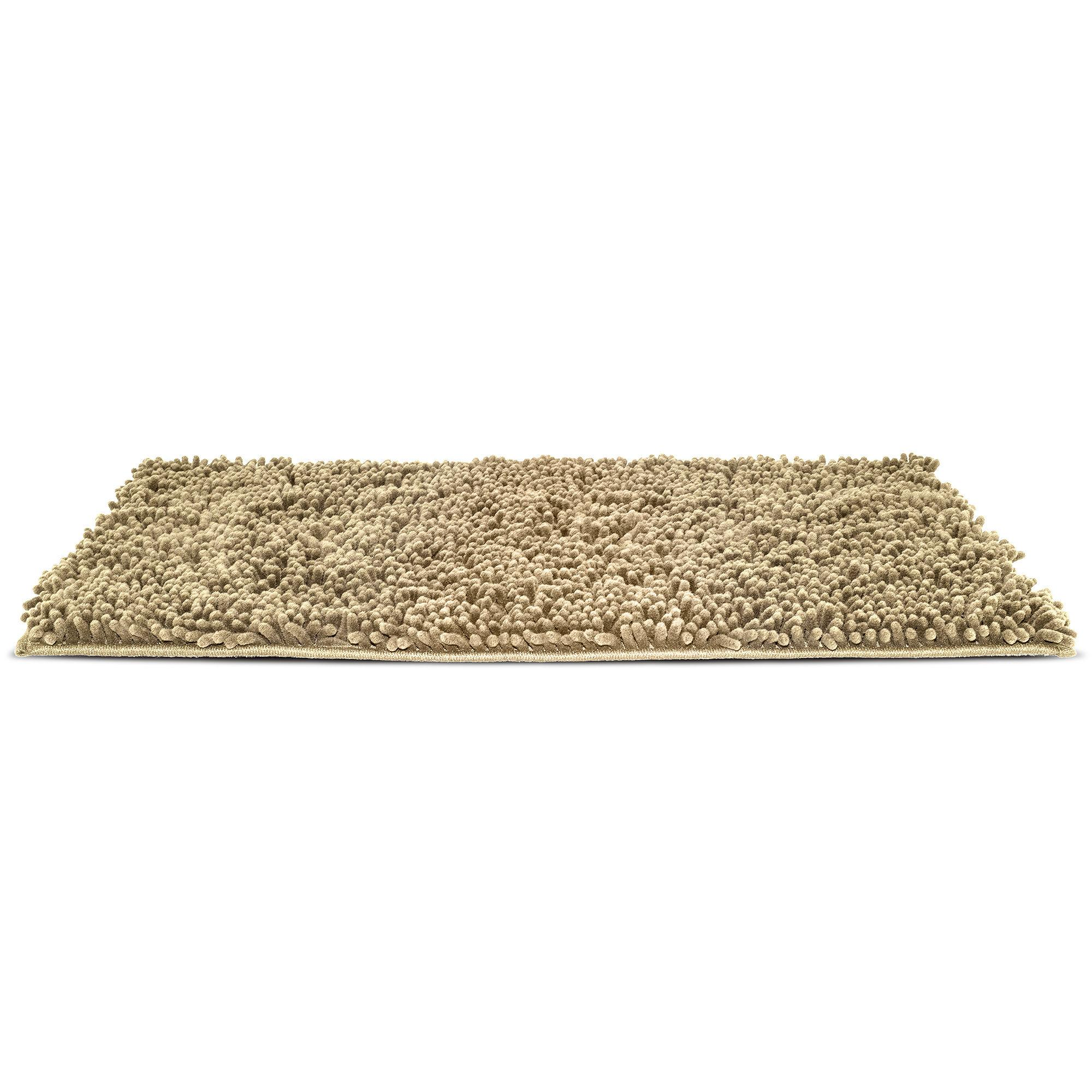 FurHaven Muddy Paws Towel & Shammy Dog Rug - Sand