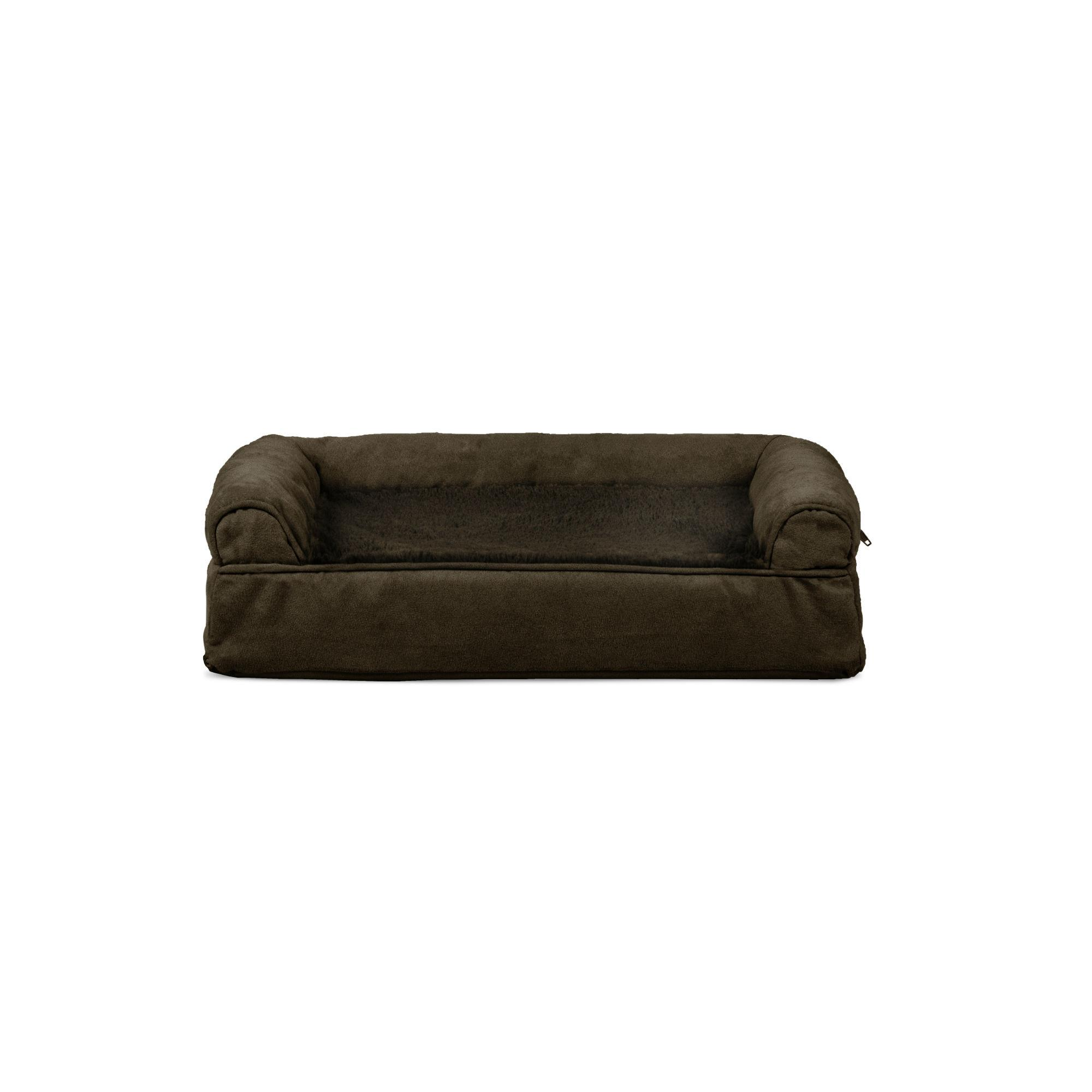 Furhaven Plush Suede Orthopedic Sofa Pet Be Baxterboo