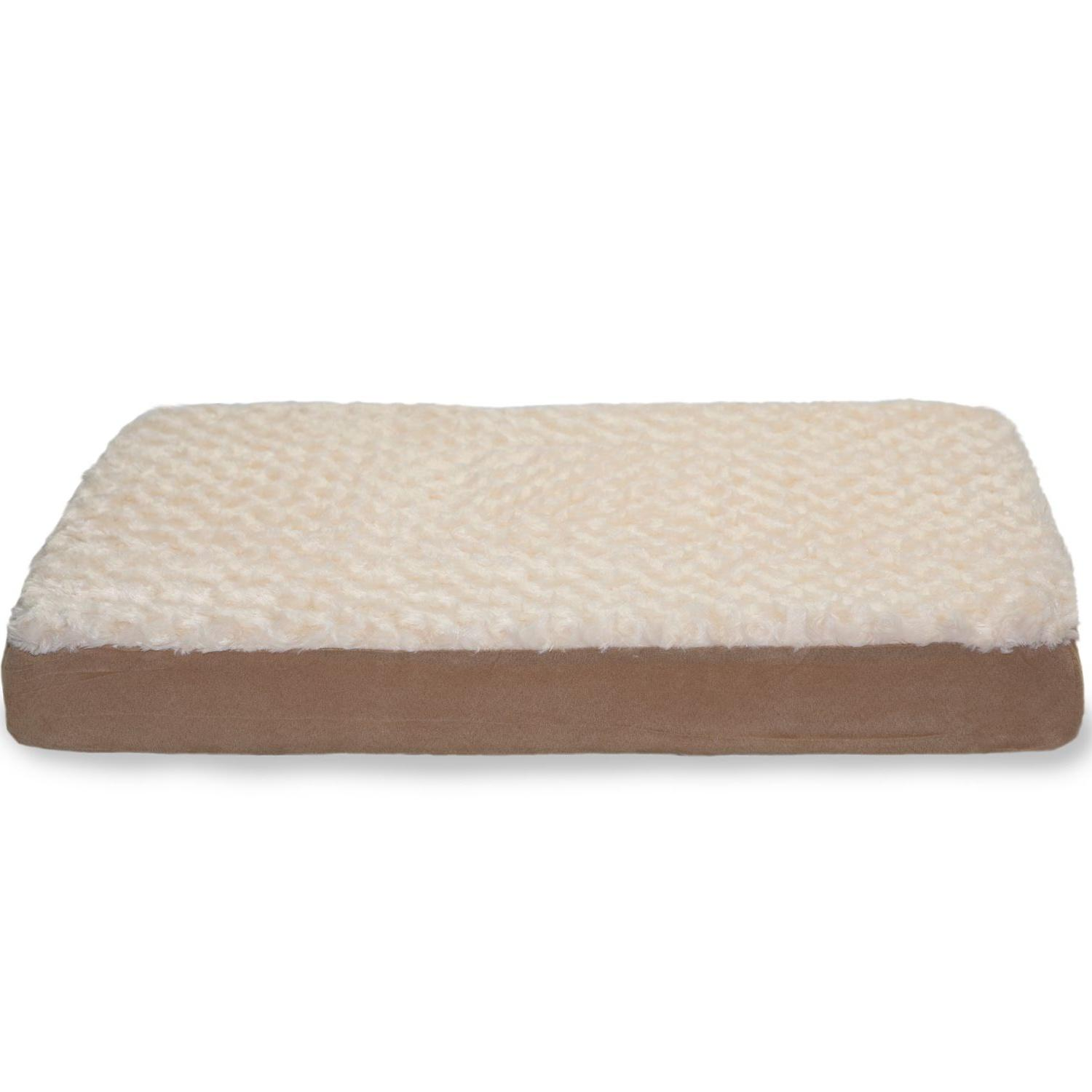 FurHaven Ultra Plush Deluxe Orthopedic Pet Bed - Cream