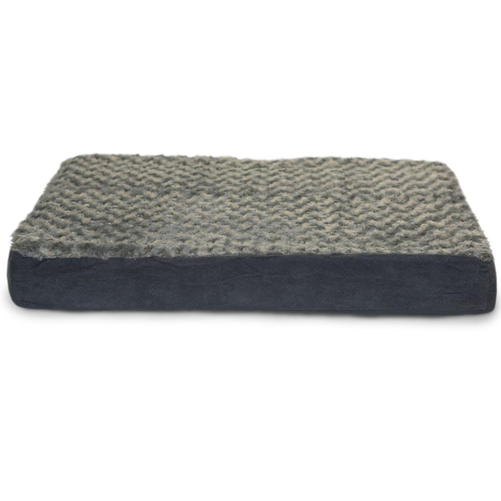 FurHaven Ultra Plush Deluxe Orthopedic Pet Bed - Gray