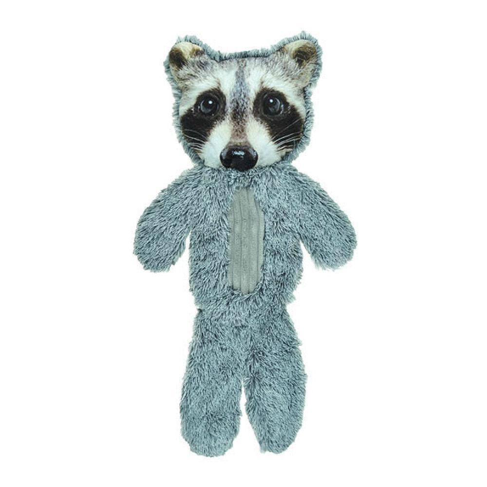 FurRealz Full Body Flattie Dog Toy - Raccoon