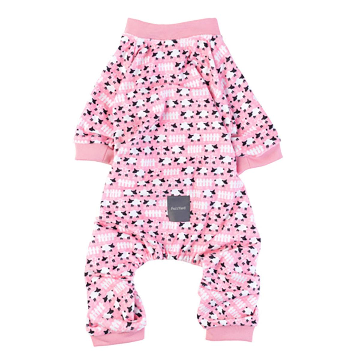 FuzzYard Counting Sheep Dog Pajamas - Pink