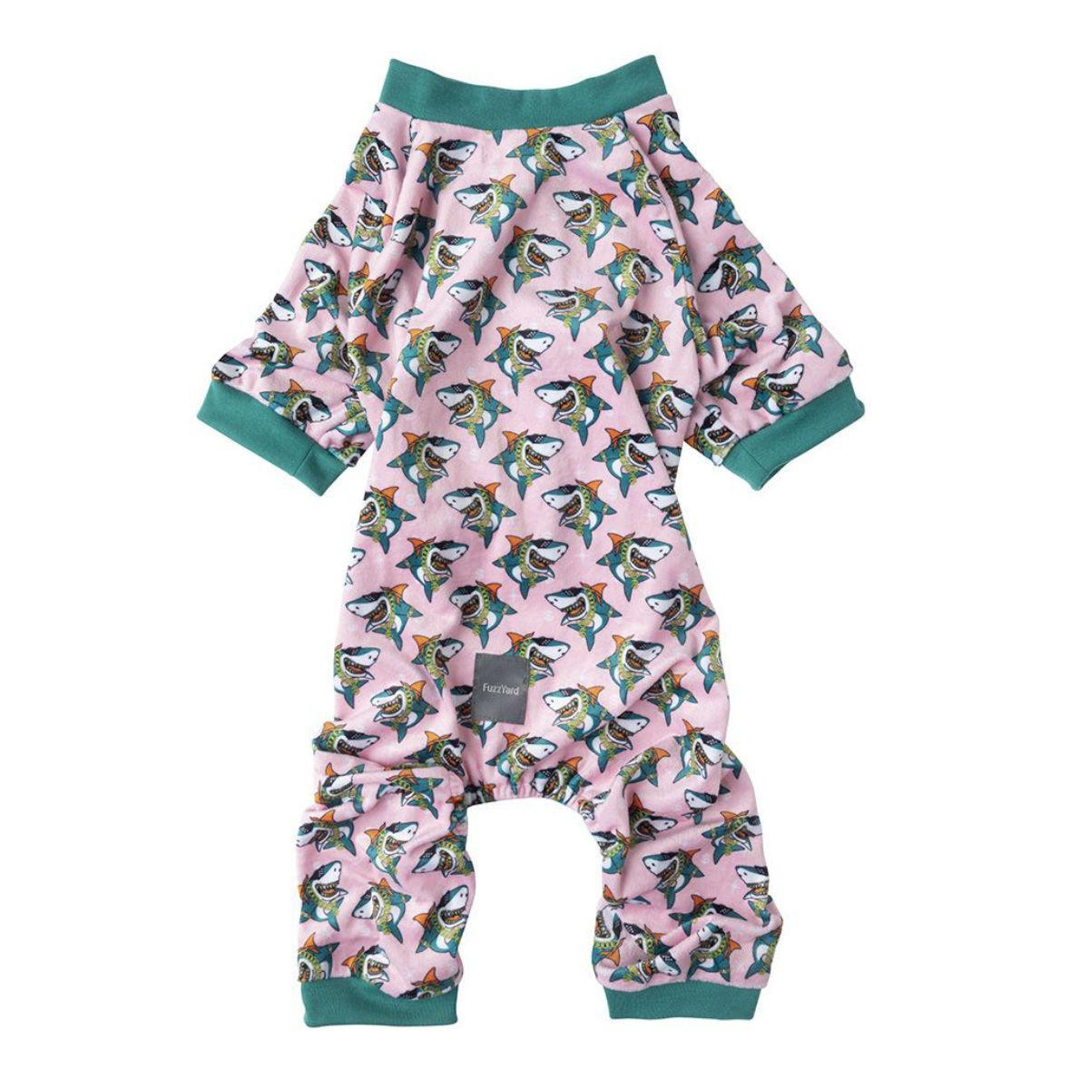 FuzzYard LL Cool Jaw$ Dog Pajamas
