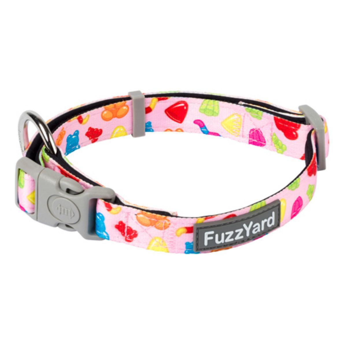 FuzzYard Jelly Bears Dog Collar