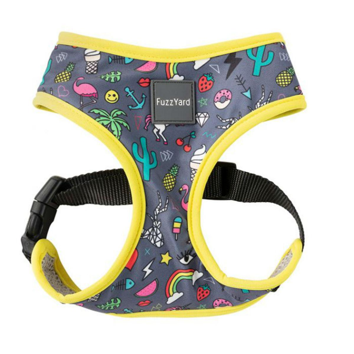 FuzzYard Coachella Dog Harness