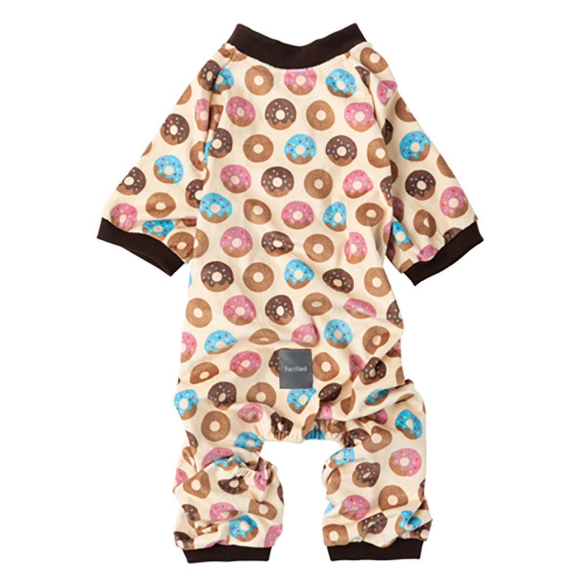 FuzzYard Go Nuts (Donuts) Dog Pajamas