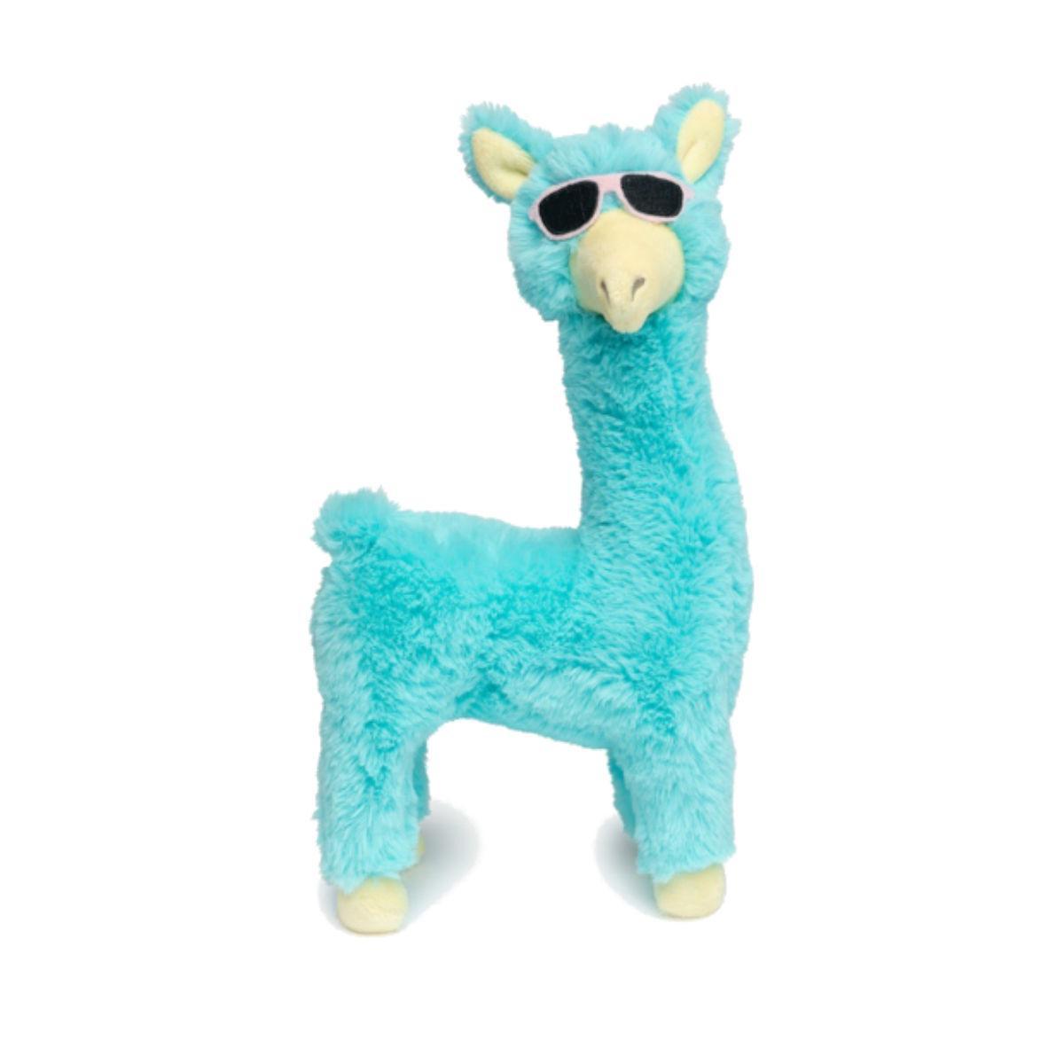 FuzzYard Kendrick Llama Dog Toy - Blue