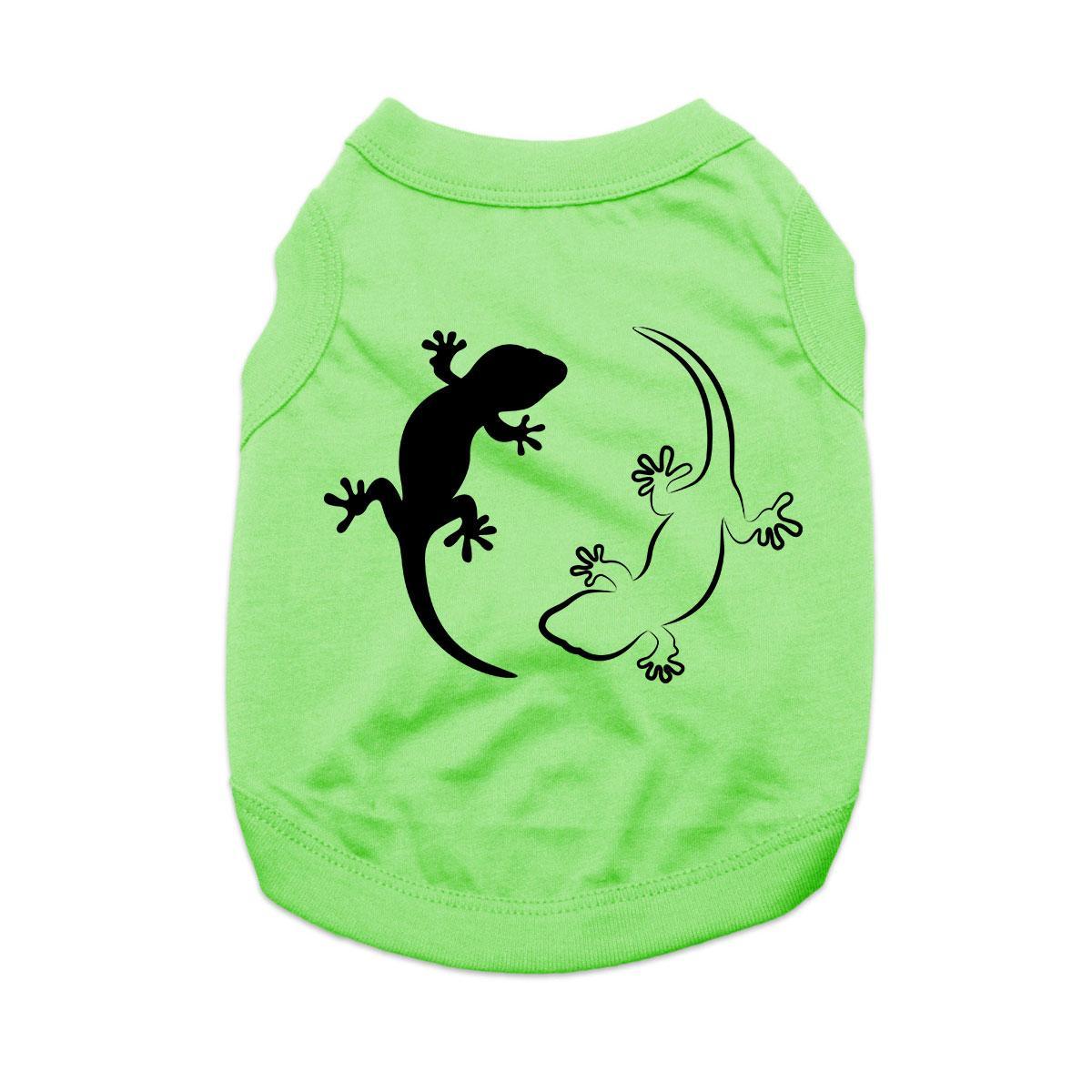 Gecko Dog Shirt - Green
