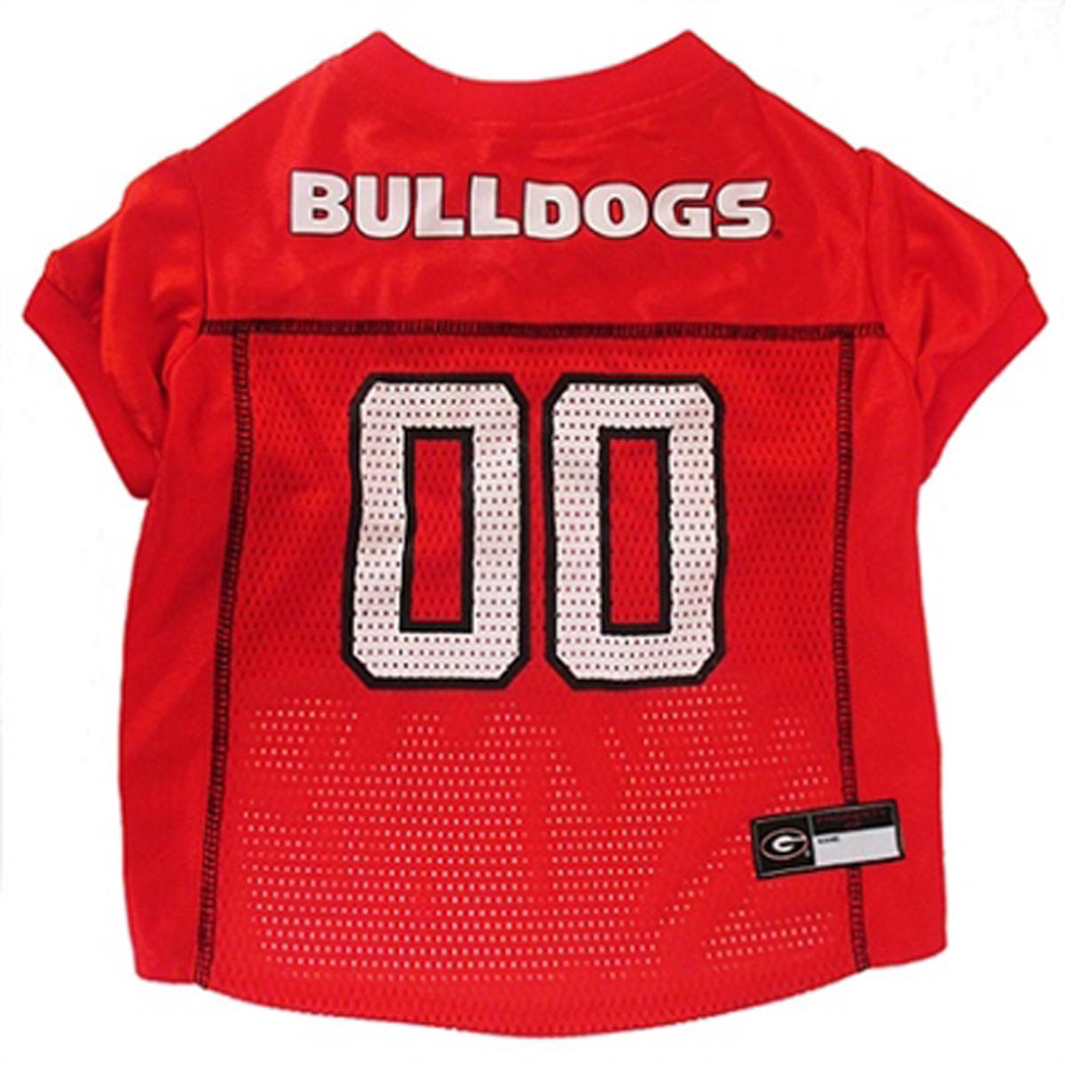 Georgia Bulldogs Dog Jersey - Red