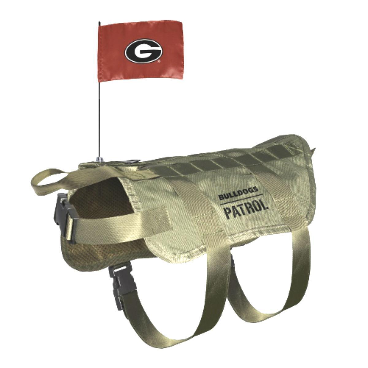 Georgia Bulldogs Tactical Vest Dog Harness