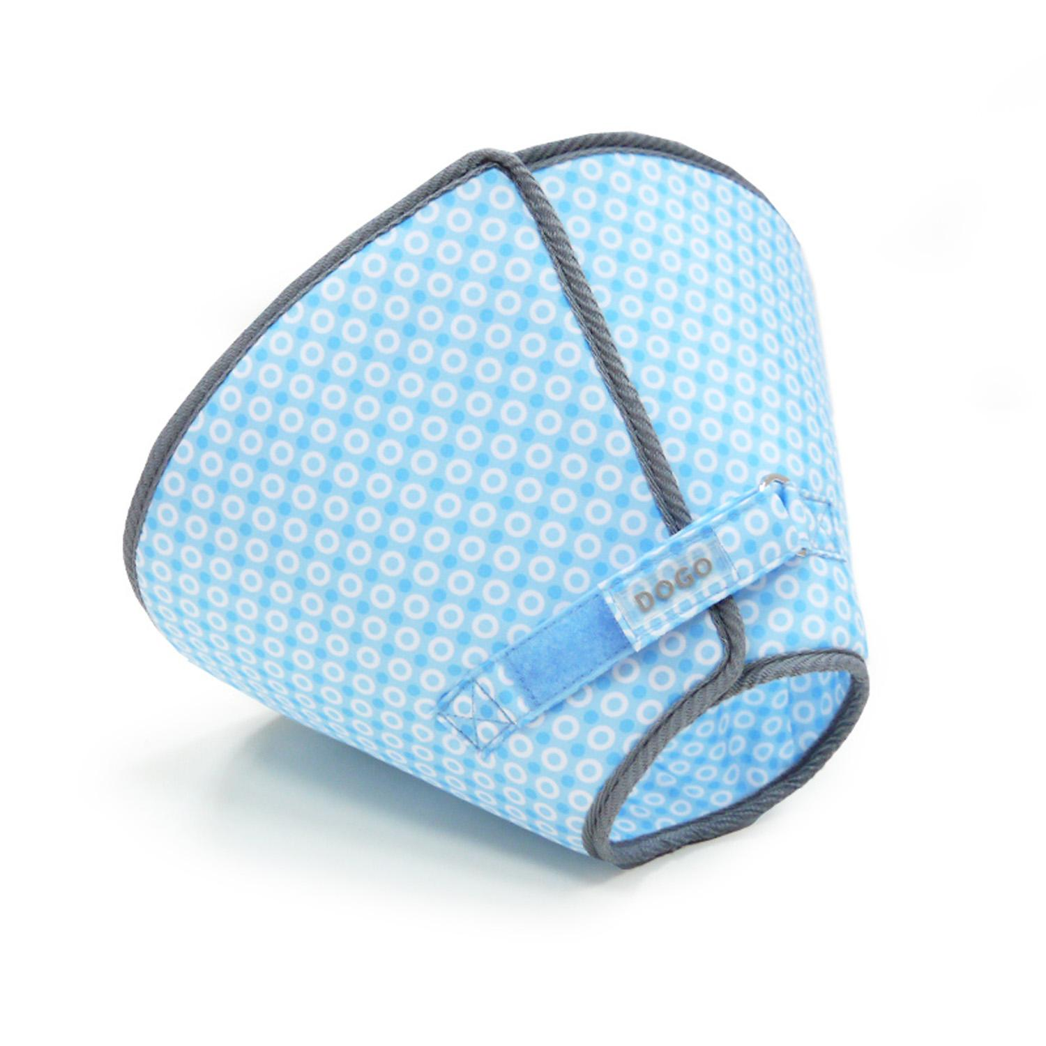 Get Better Soft Dog E-Collar by Dogo - Blue Dots