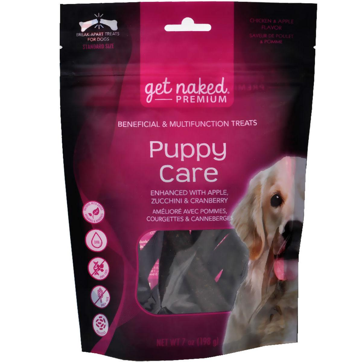 Get Naked Premium Dog Treats - Puppy Care