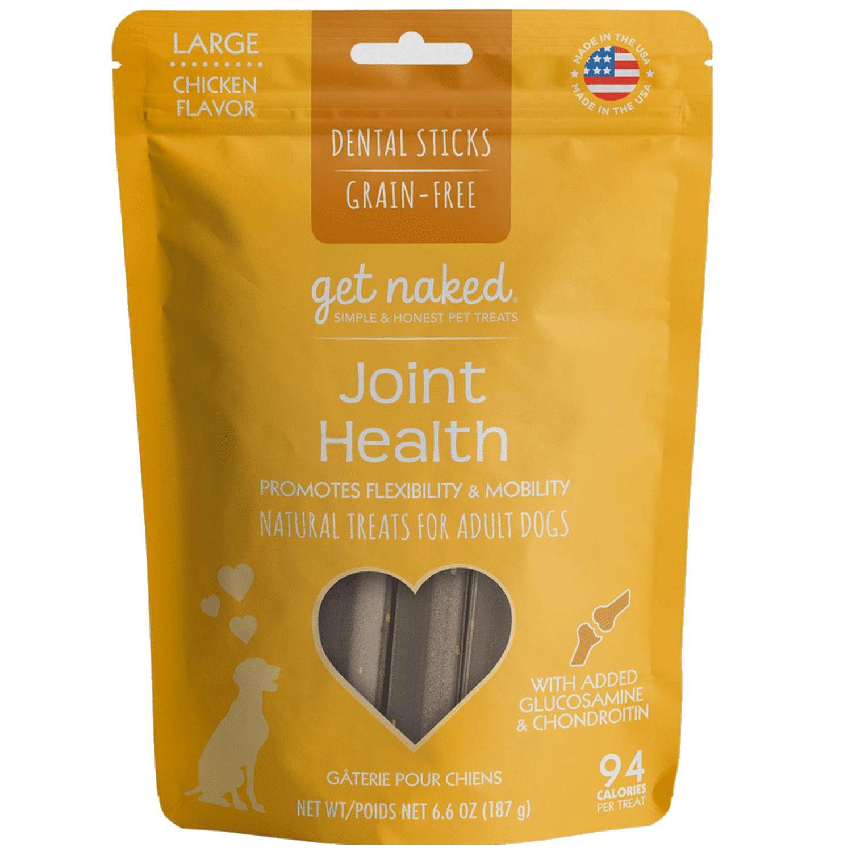 Get Naked Grain Free Dental Sticks Dog Treats - Joint Health
